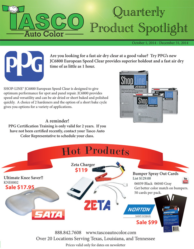 Quarterly Product Spotlight - 2014 Quarter 4