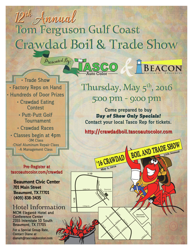 12th Annual Crawdad Flyer