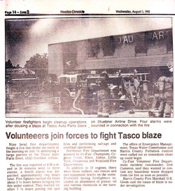 Tasco Auto Color - Houston Location Fire 1990