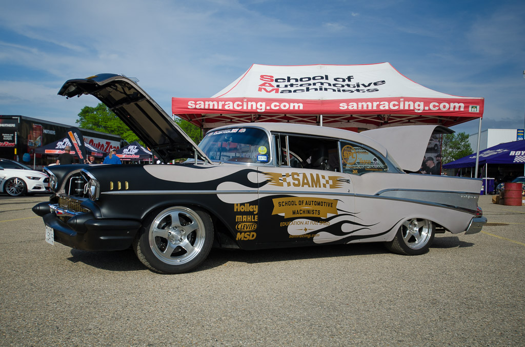 '57 Chevy Hot Rod Power Tour 2015