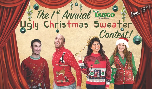 1st Annual Christmas Sweater Contest