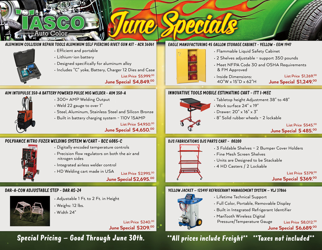 Tasco June Specials