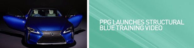 PPG Structural Blue Training Video Launch