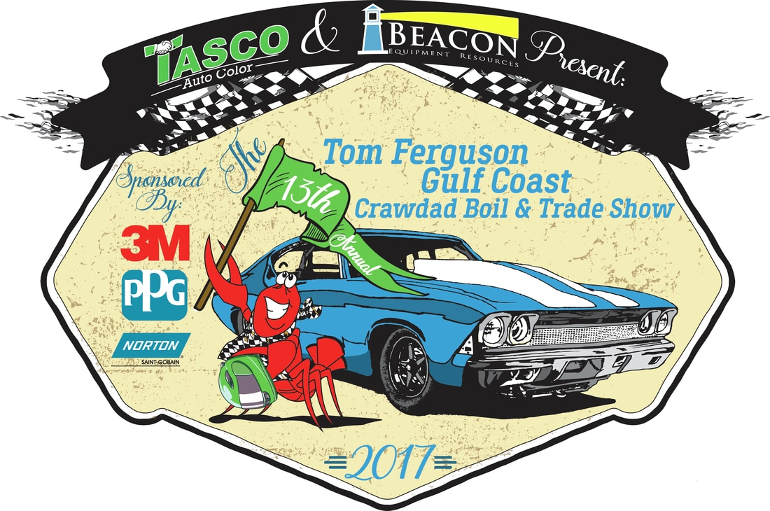 13th Annual Tom Ferguson Tasco Auto Color Gulf Coast Crawdad Boil