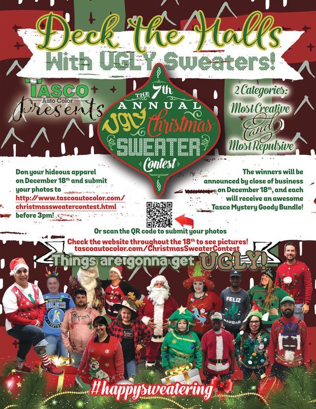 2020 7th Annual Ugly Sweater Christmas Contest