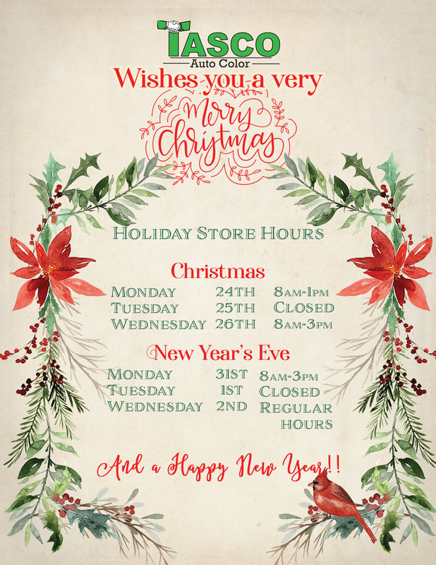 Tasco Christmas Hours